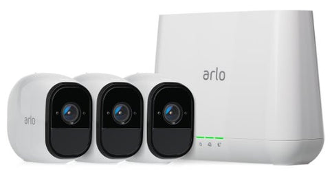 Netgear Arlo Pro Wire-Free HD Home Security 3 Camera System VMS4330