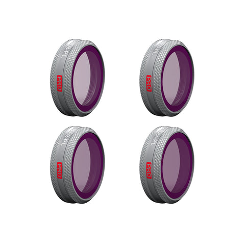 PGYTECH Mavic 2 Zoom Filter set ND8 16 32 64 ND-PL 4 Piece