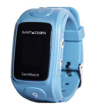 SantWissen SantWatch ST-01 Kids Tracker Blue