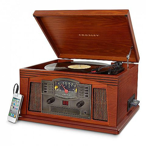 Crosley Lancaster Entertainment Turntable - Paprika - CR42C