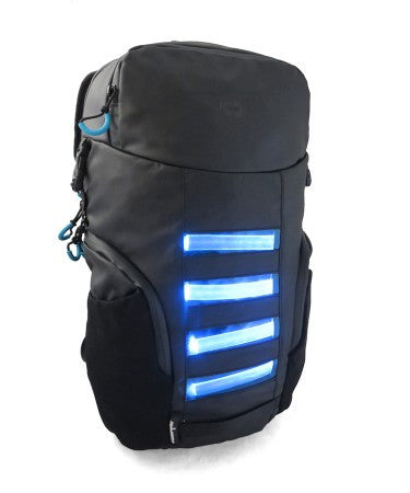 Swiss Digital Neon LED Backpack
