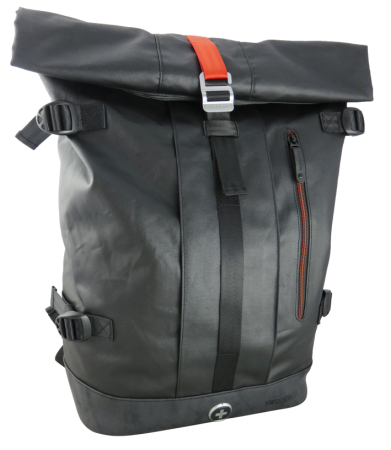 Swiss Digital Firewall Roll Top Backpack