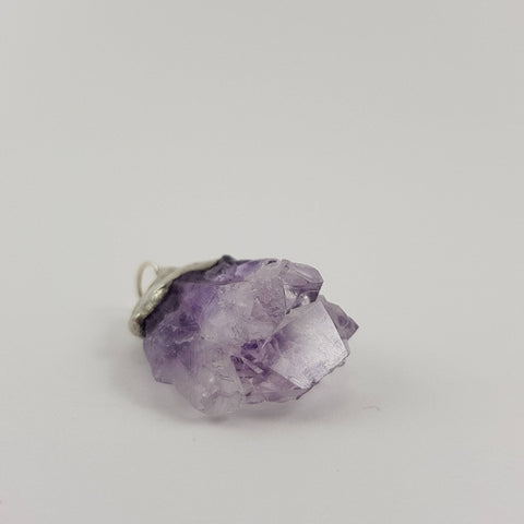Amethyst Cluster Pendant - Crystals - Gemstones - Magical Earth Bug