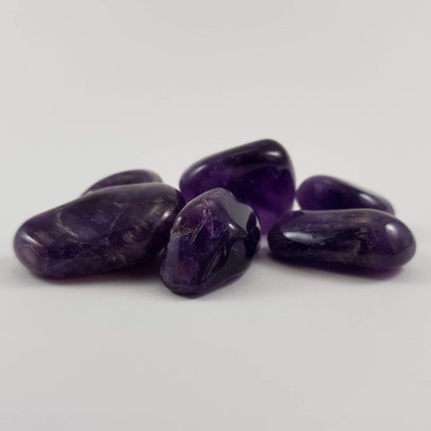 Dark Amethyst Tumbles - Crystals - Gemstones - Magical Earth Bug