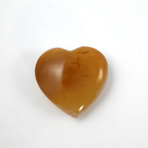 Carnelian Heart - Crystals - Gemstones - Magical Earth Bug