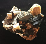 Rare Feldspar formations with Perfect Aegerine Crystals - Crystals - Gemstones - Magical Earth Bug