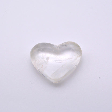 Clear Quartz Heart Shaped Crystal