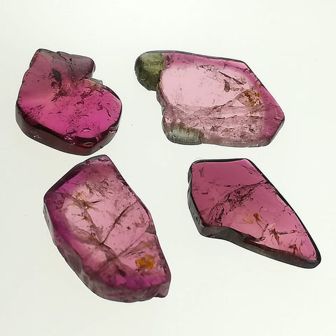 4pc Pink Tourmaline Set