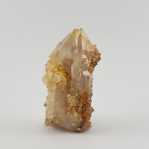 Golden Elestial Fairy Quartz Crystal