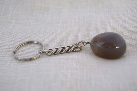 Agate Keychain - Crystals - Gemstones - Magical Earth Bug