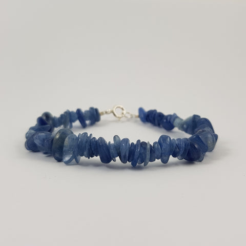 Kyanite & Sterling Silver Bracelet - Crystals - Gemstones - Magical Earth Bug