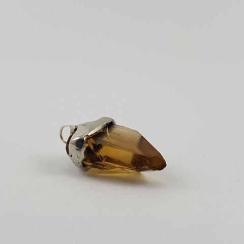 Citrine Pendant - Crystals - Gemstones - Magical Earth Bug