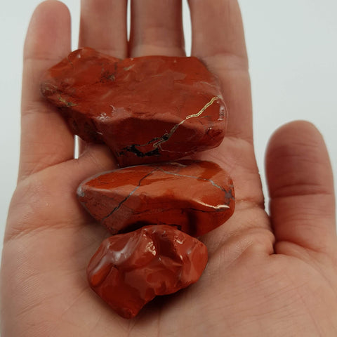 Red Jasper - Crystals - Gemstones - Magical Earth Bug