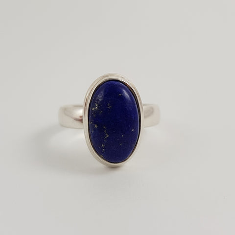 Lapis Lazulli Ring - Crystals - Gemstones - Magical Earth Bug