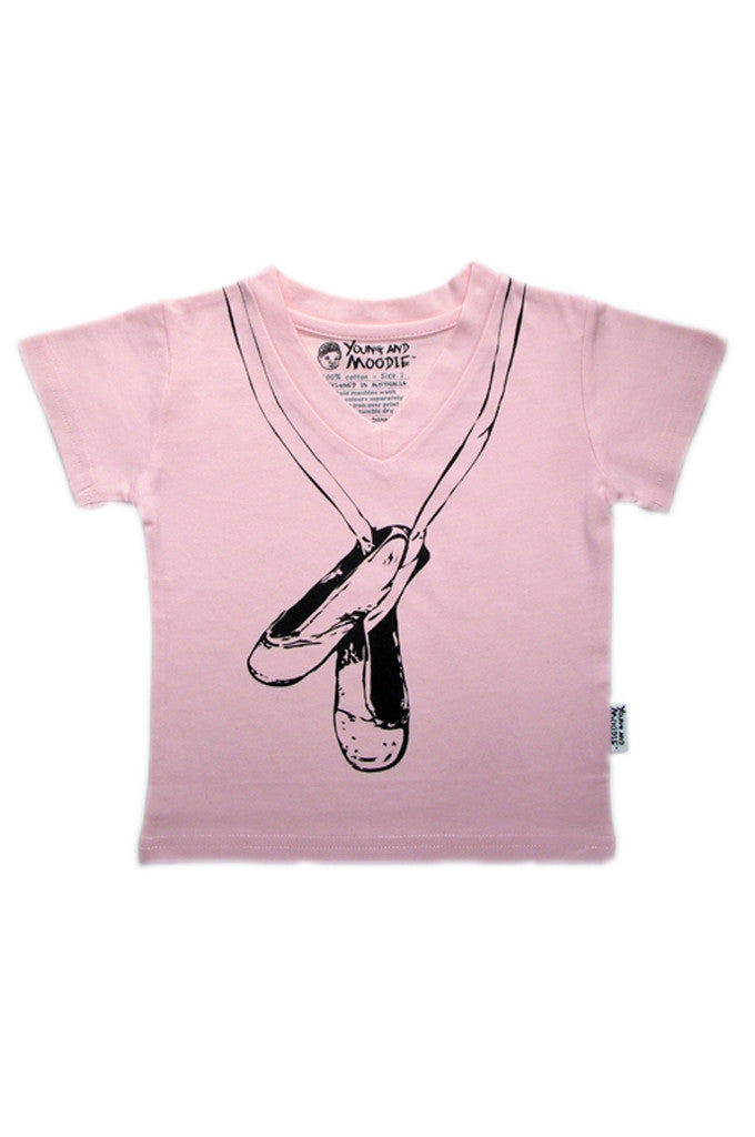 Baby Girls Ballet Top - YoungandMoodie