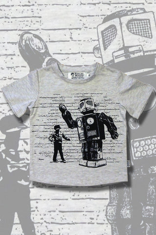 Boys Robot T-shirt - Dance Off