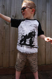 Boys Gorilla T-shirt - Board Gorilla - YoungandMoodie  - 2