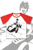 Boys Racing Car T-shirt - Street Racer - YoungandMoodie  - 1