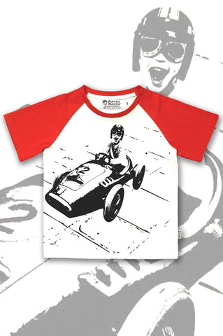 Boys Racing Car T-shirt - Street Racer