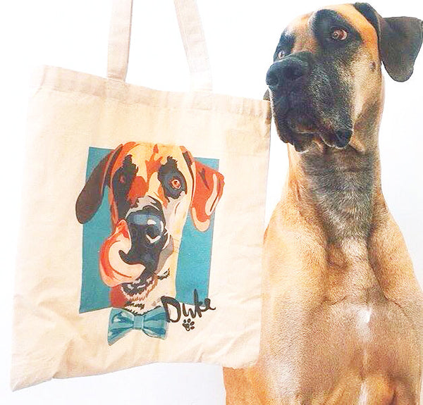 Custom Pet Canvas Bag - Barley and Bayley