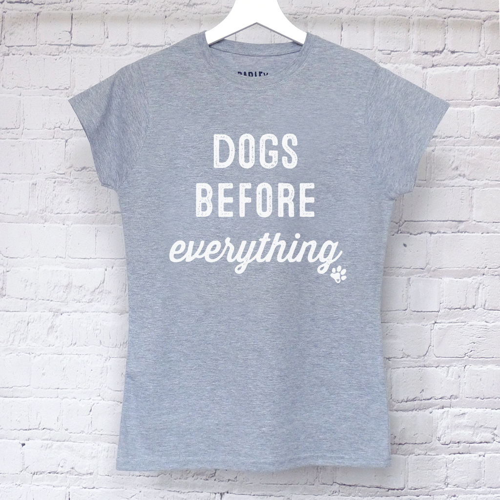 Dogs Before Everything tee