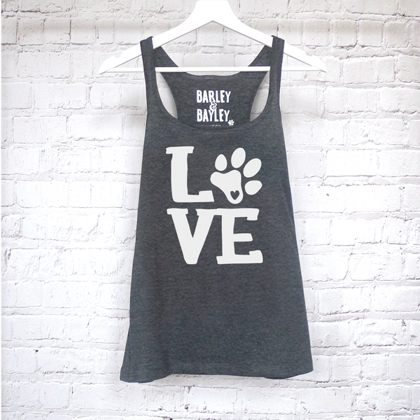Love ladies tank top