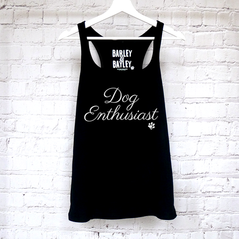 Dog Enthusiast ladies tank top