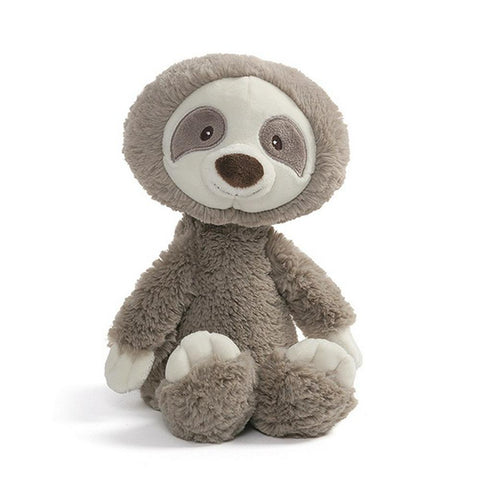Gund- Baby Toothpick - Sloth Brown Small - August Lane