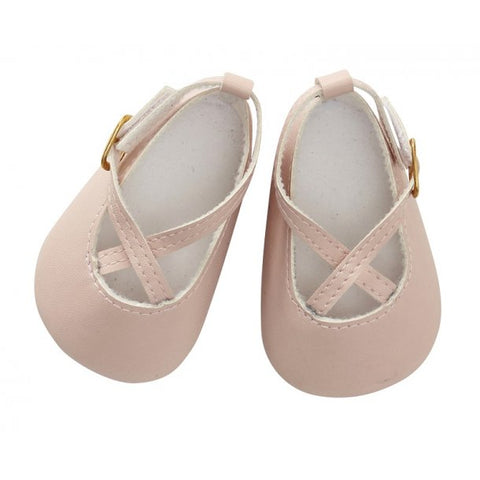 Astrup - Doll Shoes - Powder - 40-45cm (Cuddle Dolls etc) - August Lane