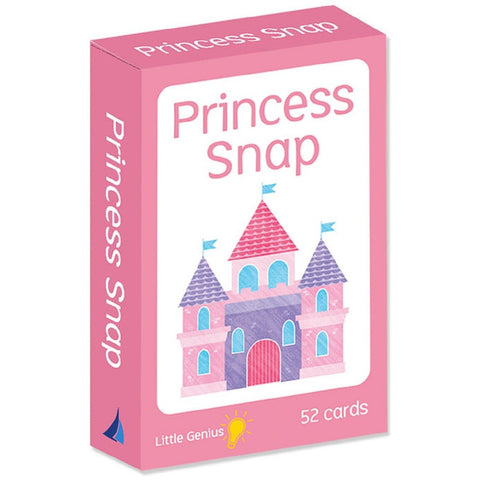 Little Genius - Princess Snap Cards - August Lane