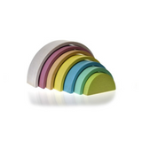 Toyslink - Wooden Rainbow Stacking Toy - August Lane