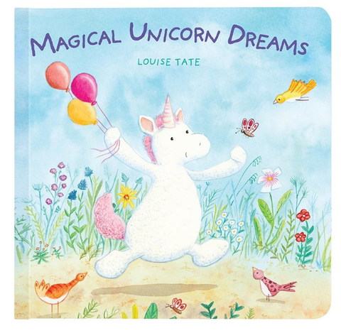 Jellycat - Magical Unicorn Dreams Book - August Lane