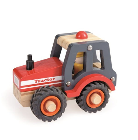 Wooden Tractor - August Lane