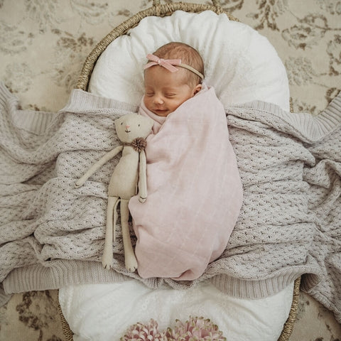 Snuggle Hunny Kids - Organic Muslin Wrap - Fairytale - August Lane