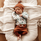 Snuggle Hunny - Biscuit Organic  Pants - August Lane