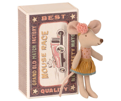 Maileg - Little Sister Mouse in Box - August Lane