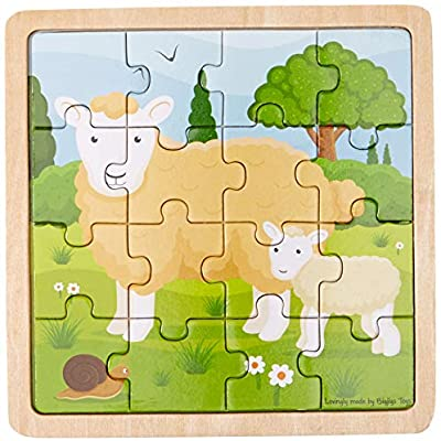 Bigjigs Toys - Sheep & Lamb Puzzle