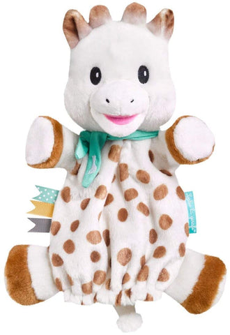 Sophie The Giraffe - Sophie Puppet Comforter - August Lane