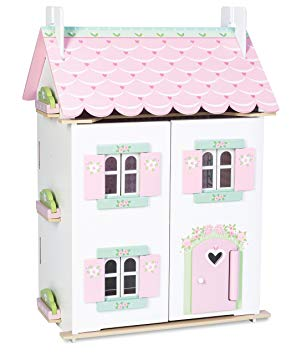 Le Toy Van - Sweetheart Cottage Doll House with Furniture -Fully Assembled In Store Pickup Only