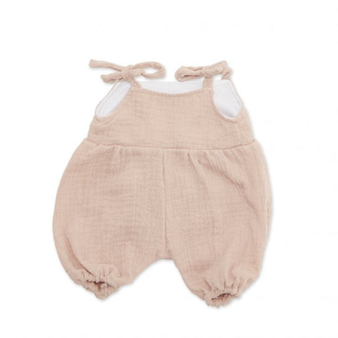 Astrup - Doll Jumpsuit - Dusty Rose - 40-45cm (Cuddle Dolls etc) - August Lane