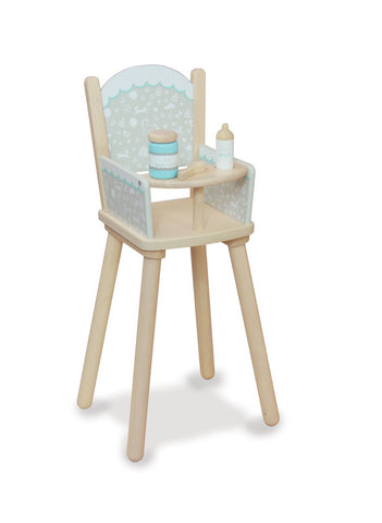 Indigo Jamm - Petworth Doll High Chair - August Lane