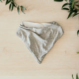 Snuggle Hunny Kids - Dribble Bib - Grey Marle