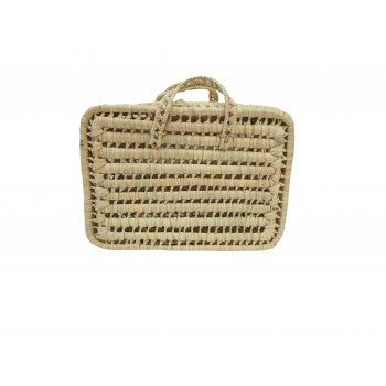 Kikadu - Palm Leaves Suitcase - August Lane