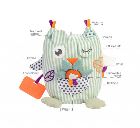 Dolce Toys - Activity Owl - August Lane