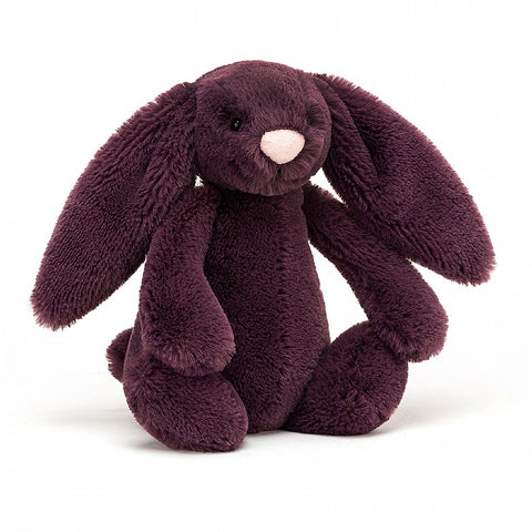 Jellycat - Bashful Bunny - Plum - Medium - August Lane