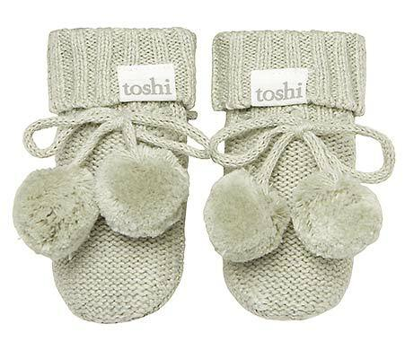 Toshi - Organic Booties Marley - Thyme - August Lane