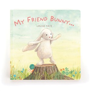 Jellycat - My Friend Bunny Book - August Lane