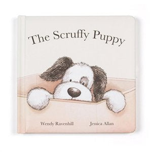 Jellycat - Scruffy Puppy Book - August Lane
