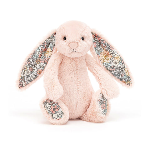 Jellycat - Blossom Bashful Blush Bunny - Small - August Lane