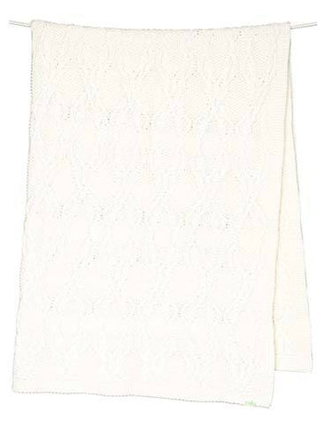 Toshi - Organic Blanket Bowie - Cream - August Lane